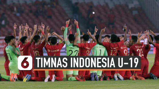 VIDEO: Tahan Imbang Korut, Timnas Indonesia U-19 Lolos Piala AFC