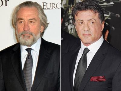'Raging Bull' vs. 'Rocky': De Niro and Stallone set to face off in 'Grudge Match'