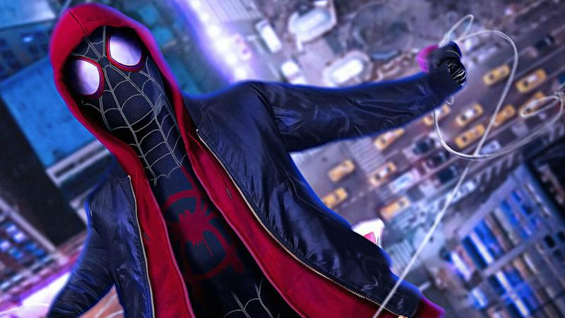 Spider-Man: Into the Spiderverse, on Netflix