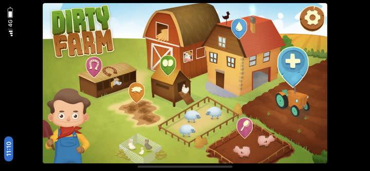 Dirty Farm home screen