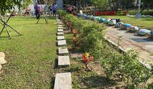 年減逾9公斤碳 中市府力推校園植樹綠牆