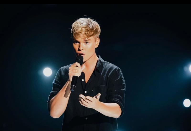 Jack vidgen auditions for The Voice Australia