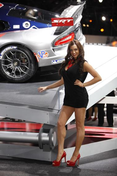 Ladies of the 2012 New York Auto Show