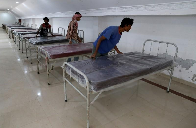 India faces spike in coronavirus cases, says study, in test for health system