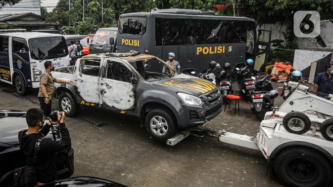 65 Prajurit TNI Ditetapkan Tersangka Perusakan Polsek Ciracas