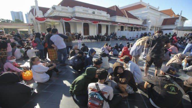 Polisi Panggil Penyelenggara Pertunjukan Seni di Alun-alun Surabaya