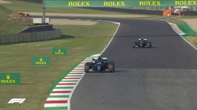 Hasil F1 GP Toskana: Hamilton Juara, Pembalap Thailand Cetak Sejarah