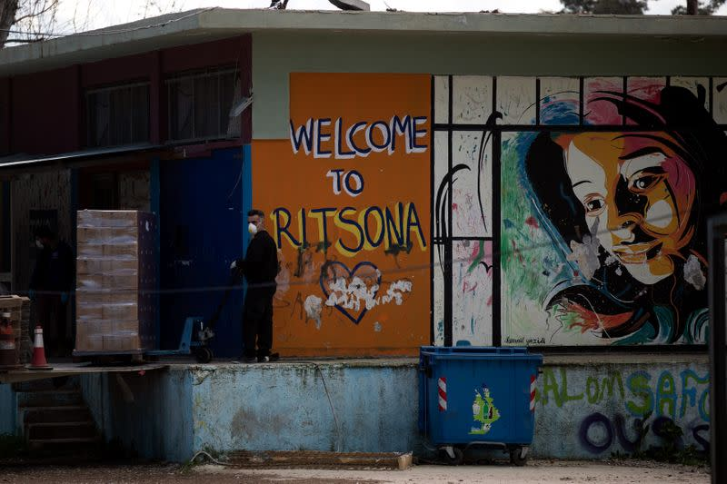 Greece quarantines camp after migrants test coronavirus positive