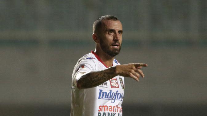 Berkat penampilan apiknya, Bali United berhasil menjadi menjadi juara musim 2019. Paulo Sergio tampil sebanyak 26 kali di Liga 1 2019. Ia tercatat mencetak dua gol dan menyumbang 10 assist. (Bola.com/Yoppy Renato)