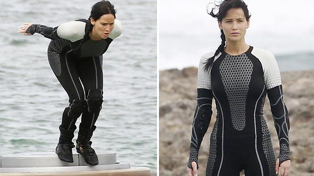 Jennifer Lawrence Loved Filming in the Water for 'Hunger Games: Catching Fire'