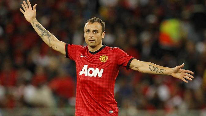 Eks striker MU, Dimitar Berbatov (AFP/Anesh Debiky)