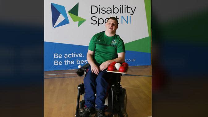Kisah Scott Cromie, Pria dengan Cerebral Palsy yang Penuh Ambisi dan Jadi Atlet Boccia