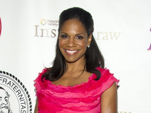 "FILE - This May 16, 2012 file photo shows Audra McDonald at the Friars Club Roast of Betty White in New York. McDonald's new CD,"" Go Back Home"" includes classics like Stephen Sondheim's ""The Glamorous Life,"" the Richard Rodgers-Oscar Hammerstein II's ""Edelweiss,"" and ""First You Dream,"" from the John Kander and Fred Ebb show ""Steel Pier."" (AP Photo/Charles Sykes, file)"
