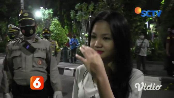 VIDEO: Operasi Yustisi di Taman Bungkul Jaring Ratusan Pelanggar Protokol Kesehatan