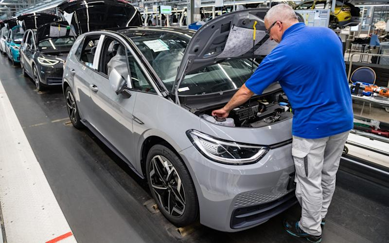 VW plant - Jens Schlueter/Getty
