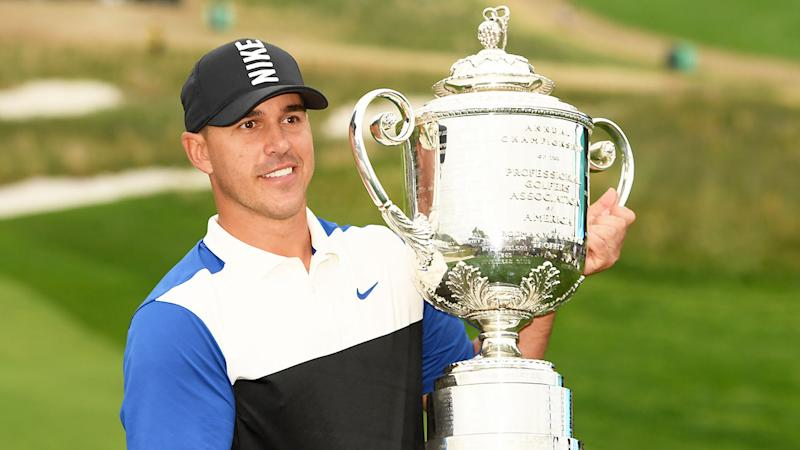 Brooks Koepka recently defended his PGA Championship title.