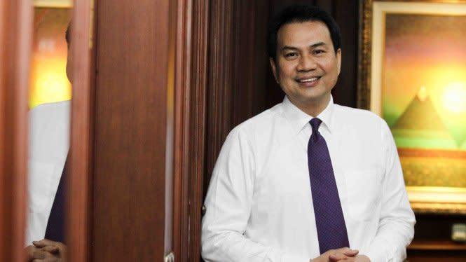 Wakil Ketua DPR Azis Syamsuddin Alami Kecelakaan