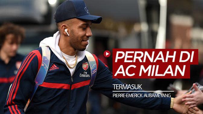 VIDEO: Pierre-Emerick Aubameyang, Fernando Torres, dan 4 Bintang yang Terlupakan Pernah Bersama AC Milan