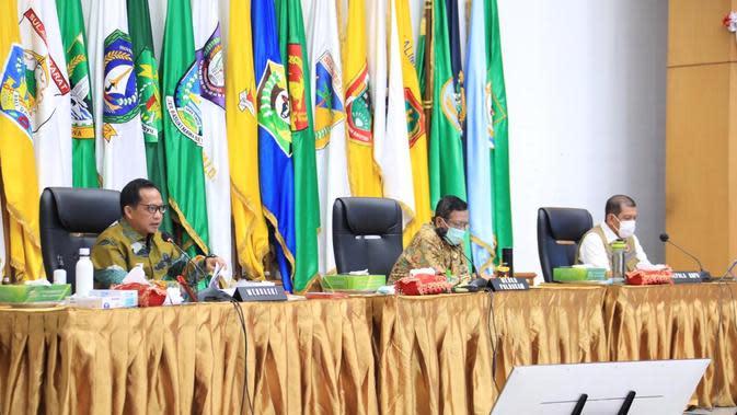 Kendalikan Penularan Covid-19 dalam Pilkada 2020, Mendagri Dorong Daerah Lakukan Rapat Koordinasi