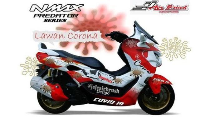 Yamaha NMax Edisi Corona Tampil Menggoda