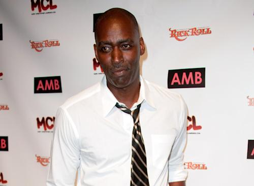FILE - In this Oct. 6, 2012 file photo, actor Michael Jace attends WordTheatre presents Storytales at Ford Amphitheater in Los Angeles. Jace is due back in court on Wednesday, June 18, 2014, for arraignment on a murder charge filed after police say he shot and killed his wife, April Jace, on May 19, 2014, in their Los Angeles home. (Photo by Richard Shotwell/Invision/AP, File)