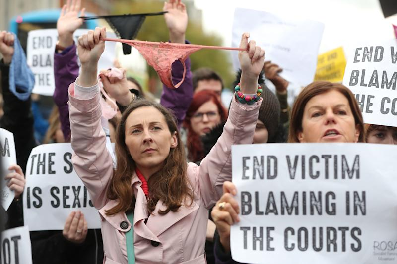 ThisIsNotConsent: Ireland women protest after rape acquittal