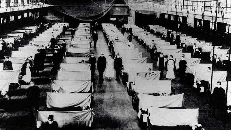 flu, pandemi, flu spanyol, virus corona