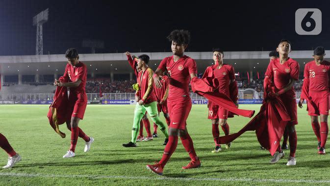 Timnas Indonesia U19. (Liputan6.com/Helmi Fithriansyah)