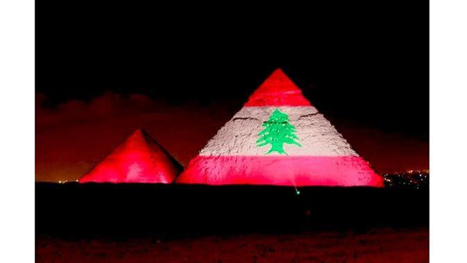 Solidaritas dan dukungan untuk Lebanon (Sumber: arabnews.com)