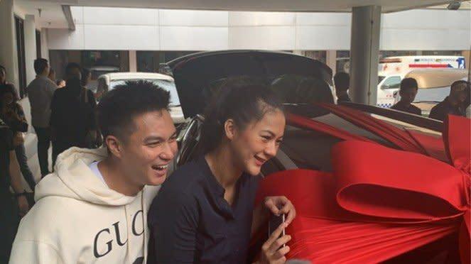 Baim Wong dan Paula