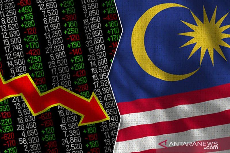 Bursa saham Malaysia merosot, Indeks KLCI ditutup anjlok 0,60 persen