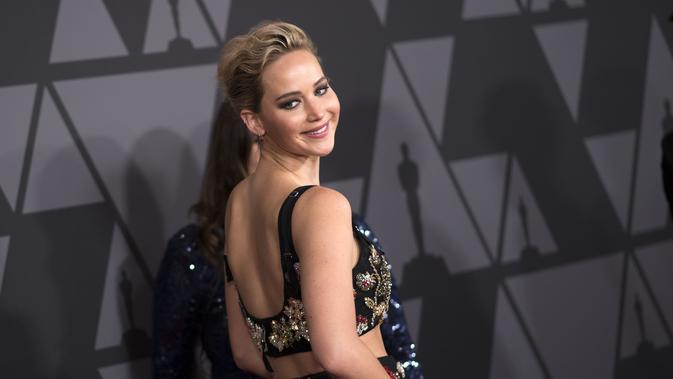 Jennifer Lawrence. (VALERIE MACON AFP)