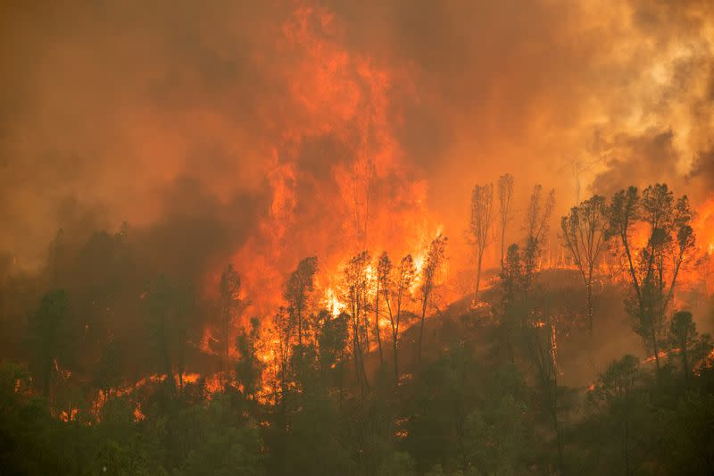Why California's wildfire year could be the worst in decades