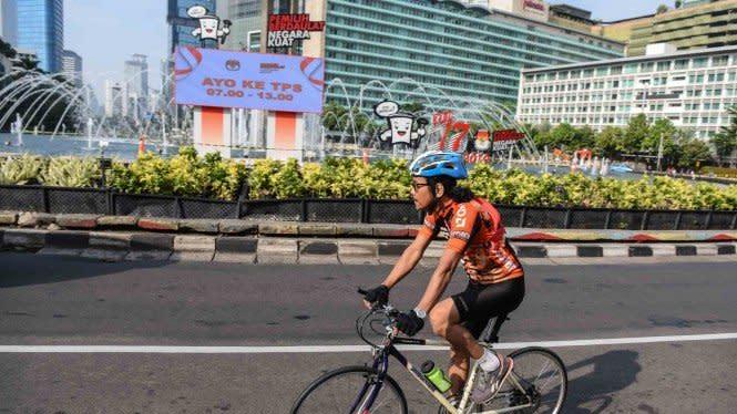 Anies Kembali Adakan CFD Sepeda di 32 Lokasi Minggu Depan