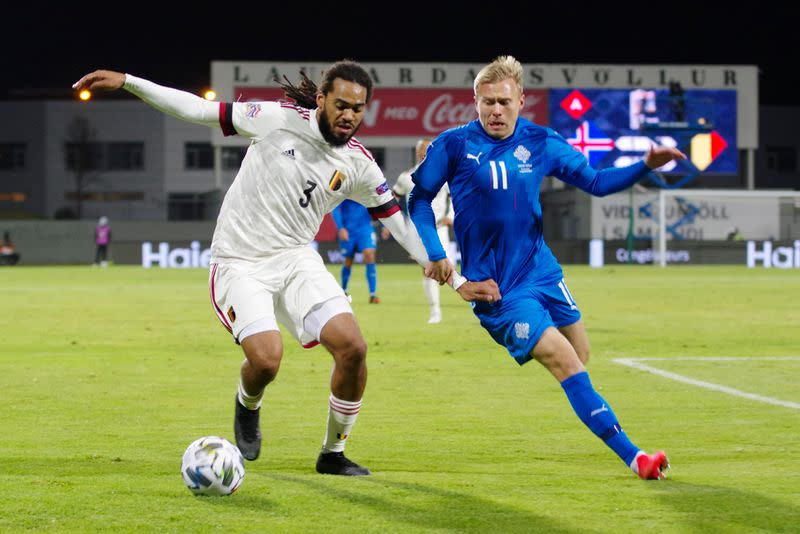 Lukaku powers Belgium back to winning ways against Iceland