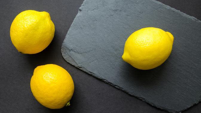 Ilustrasi buah lemon. /pexels