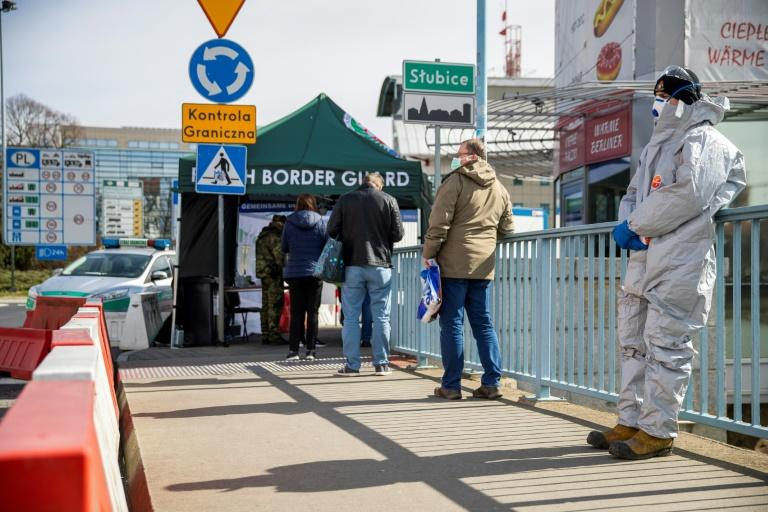 The Polish government announced on March 27 that anyone entering the country would be placed in mandatory 14-day quarantine