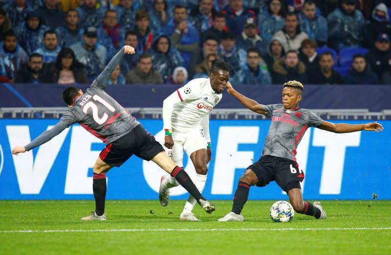 Champions League - Group G - Olympique Lyonnais v Benfica