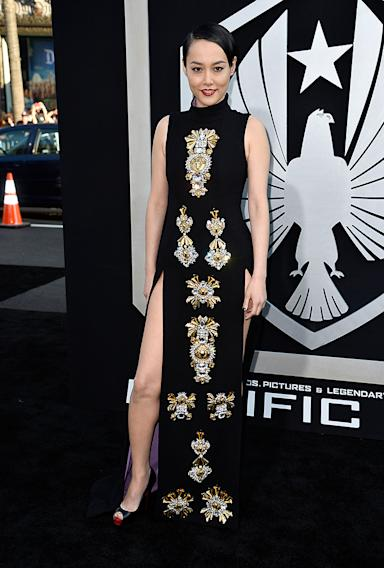 "Premiere Of Warner Bros. Pictures And Legendary Pictures' ""Pacific Rim"" - Arrivals"