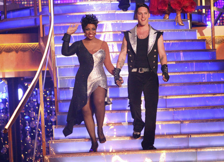Gladys Knight and Tristan MacManus  (4/09/12)