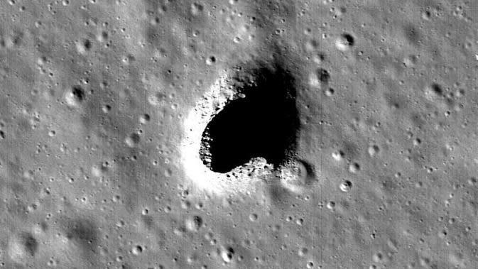 Marius Hills, wilayah yang diklaim aman dihuni manusia di Bulan. Foto: Phys.org