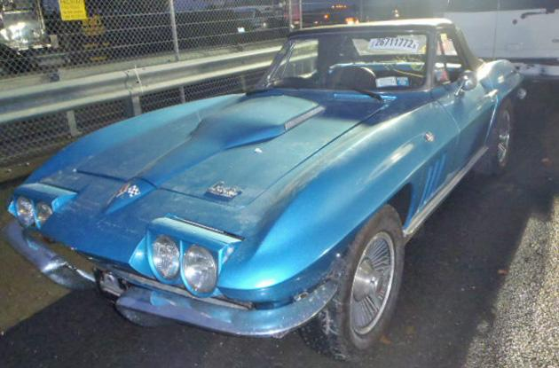 From Vettes to Herbie, classic cars drowned by Hurricane Sandy wash up in salvage