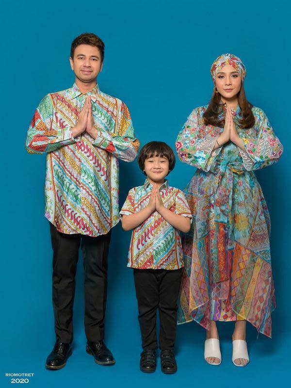 Raffi Ahmad, Rafatha, dan Nagita Slavina. (Foto: Rio Motret dari Instagram @raffinagita1717)
