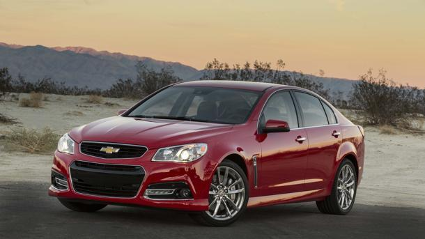 2014 Chevrolet SS, mixing with the best: Motoramic Drives