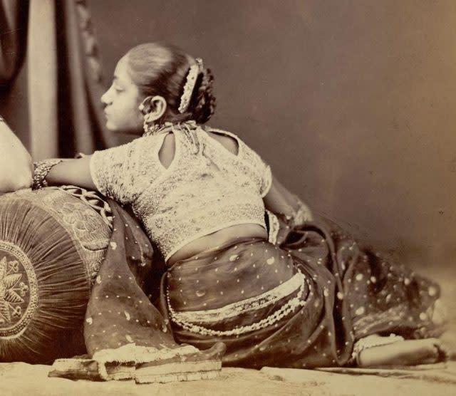 choli, indian blouses history