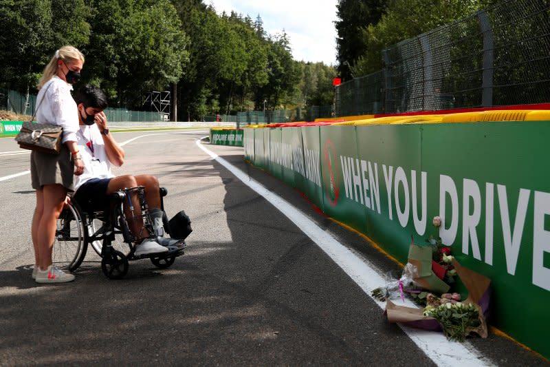 Mengenang satu tahun kematian Anthoine Hubert di GP Belgia