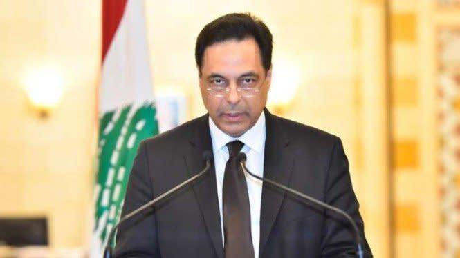 PM Lebanon Hassan Diab dan Jajarannya Mengundurkan Diri