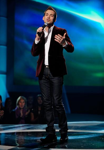 "Ricky Braddy performs ""A Song for You"" by Donny Hathaway on ""American Idol."""