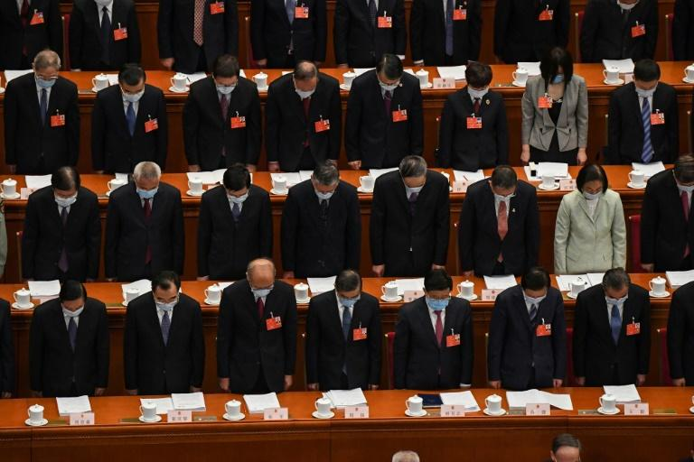 The 3,000-member National People's Congress (NPC) began with a minute of silence for China's victims of the coronavirus