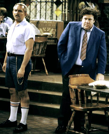 Cliff Clavin and Norm Peterson (Cheers)